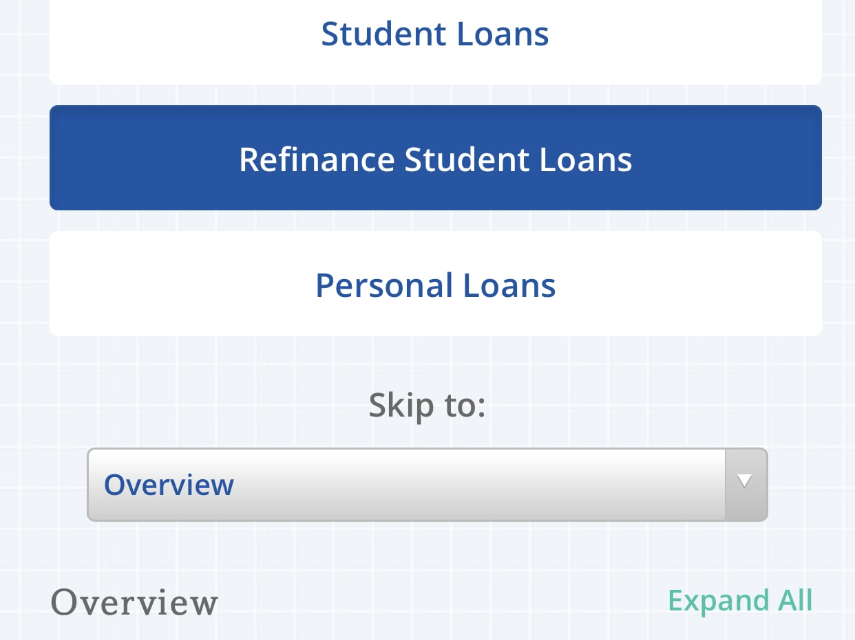 $100 bonus when you take out a personal loan and $250 when you refinance your student loan