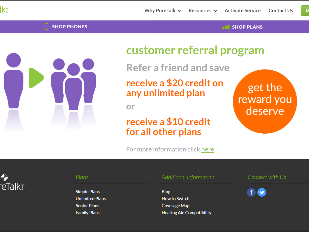 Get $10 Credit during activation using my number
