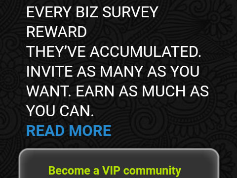 Get $25 from everyone new member you invite and 20% from every survey your referral cashes out.