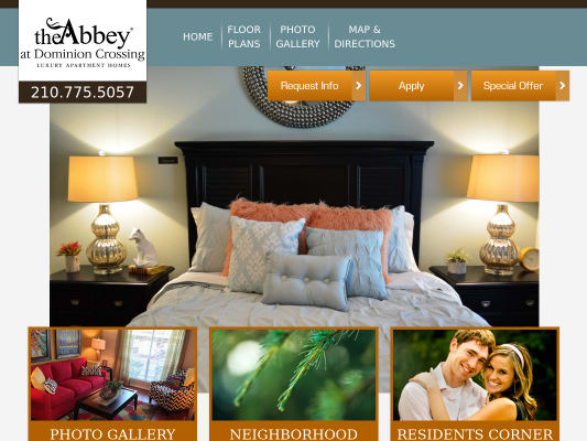 Get $250 if you lease using my referral at Abbey at Dominion Crossing San Antonio, Texas