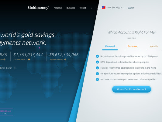 Goldmoney - Earn Gold through my referral