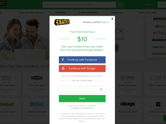 Get 10 bucks for signing up with my referral link!