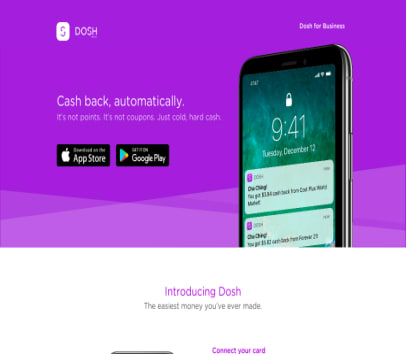 Get  unlimited $5 from Dosh when you use my link