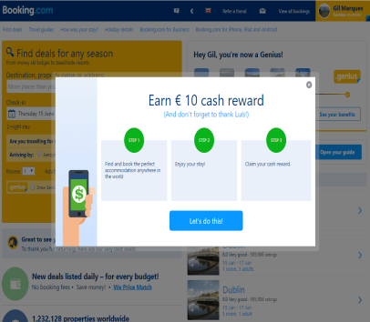 Get 15 Euro Cash Reward using Referral link