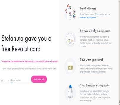Order you Revolut card and get back $11