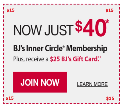 Past BJ's Coupon Codes