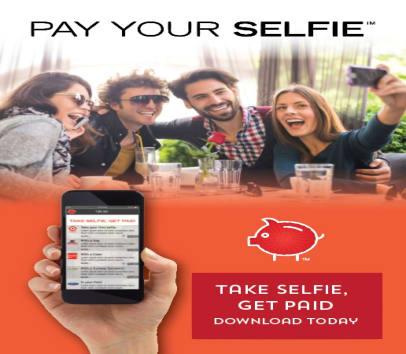 Get paid take selfies!