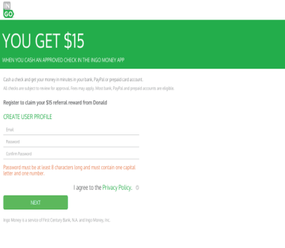 Get Free $15 using my referral link