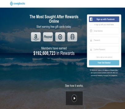 Swagbucks Referral Bonus - Get 500 points when you sign up