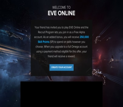 Eve Online Refer a Friend - EVE Online Trial with no time