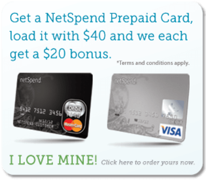 Get $20 Once free prepaid account loaded with $40