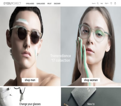 EyeBuyDirect Discount ( glasses , sunglasses , etc )