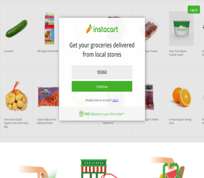 $10 OFF + FREE DELIVERY with Instacart