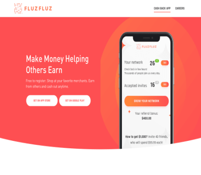 Fluz Fluz Referral Program - Make $25 for every referral who spends
