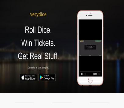 Verydice Signup Bonus - Get 50 Free rolls with #430530 - Roll dice