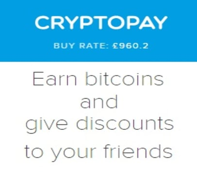 Cryptopay Refer A Friend Earn Bitcoins Btc Using Your Referral -