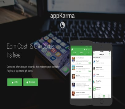 Get 300 credits for appkarma if use my referral code