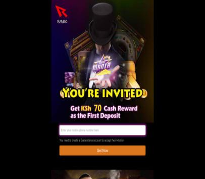 Get KSH 70 once you register