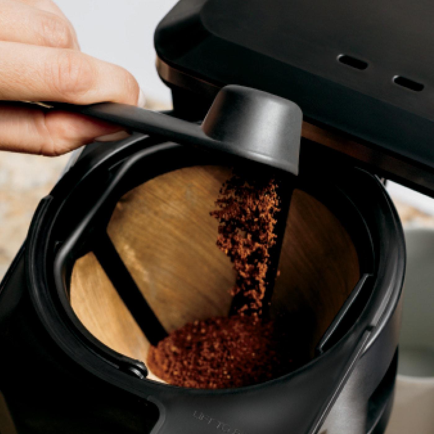 Integrated smart scoop