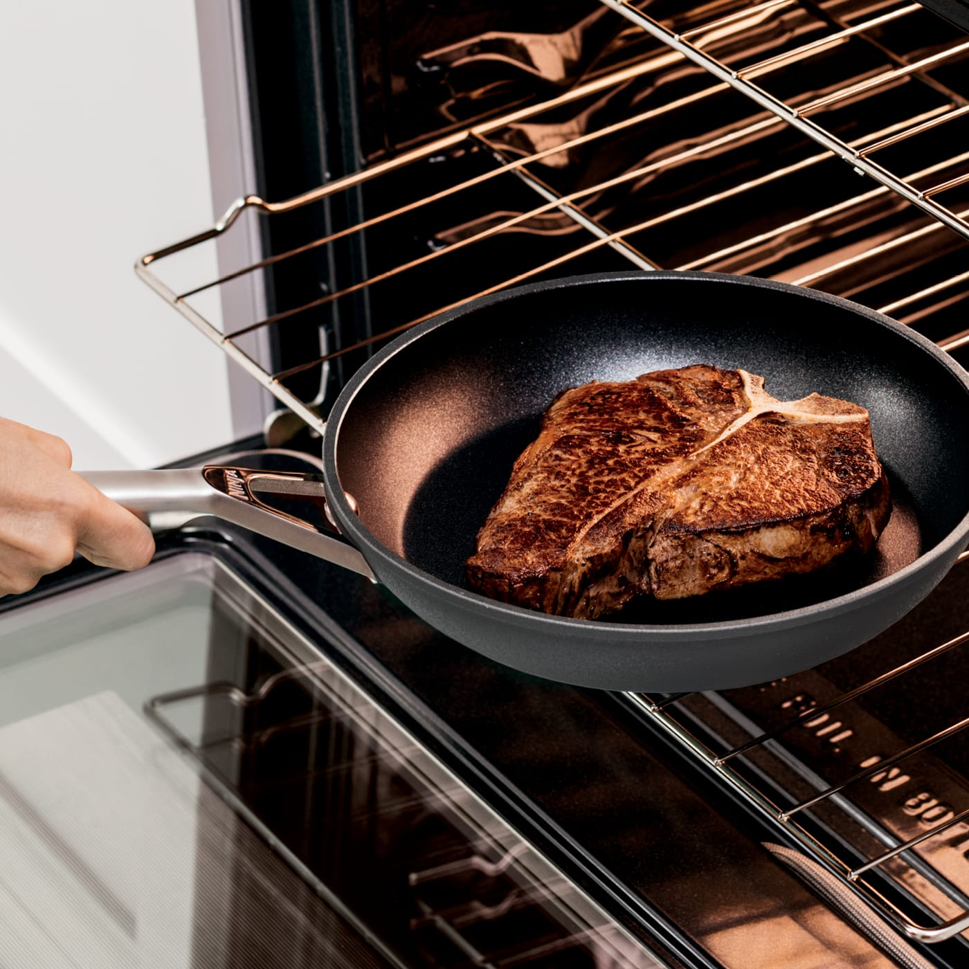 Stovetop to oven like cast iron