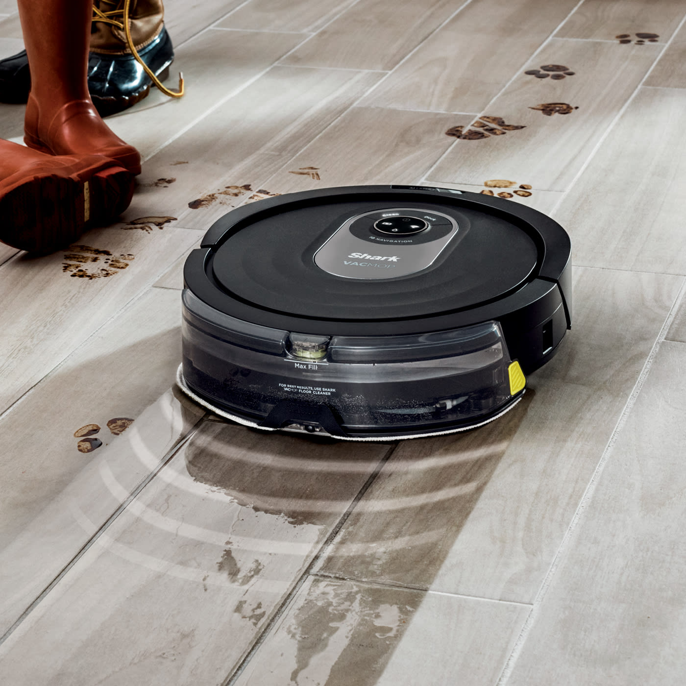 Dry Vacuuming + Wet Mopping