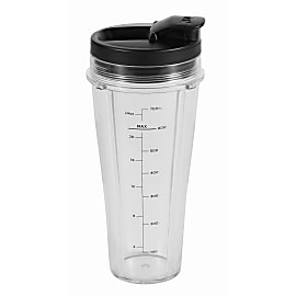 700ml Slim Cup & Lid product photo Side New M