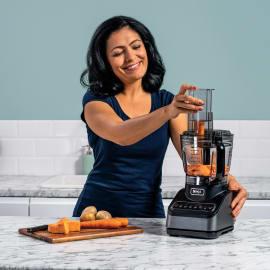 Ninja Küchenmaschine mit Auto-iQ BN650EU Produktbild Side New M
