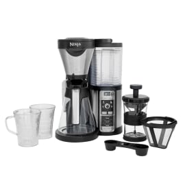 Ninja Coffee Bar Auto-iQ Kaffeemaschine mit Glaskanne CF060EU Produktbild Side New M