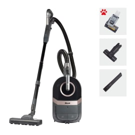 Shark Bagless Cylinder Vacuum Cleaner with Dynamic Technology, Pet Model [CV100UKT] product photo Side New M