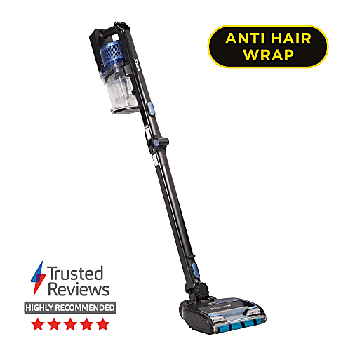 Vacuum Cleaners Shark Anti Hair Wrap Cordless Stick Vacuum Cleaner with PowerFins, Flexology & TruePet [Twin Battery] IZ320UKT