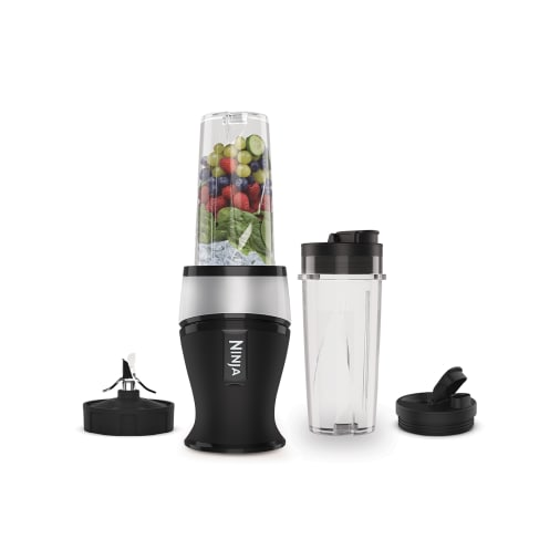 Image of Nutri Ninja 700W Slim Blender & Smoothie Maker - QB3001UKS - Silver