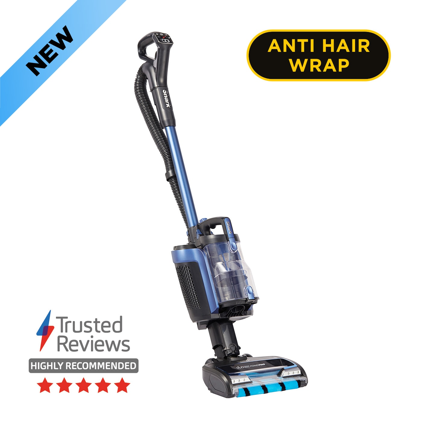 Shark Anti Hair Wrap Cordless Upright Vacuum Cleaner with PowerFins, Powered Lift-Away & TruePet ICZ300UKT product photo