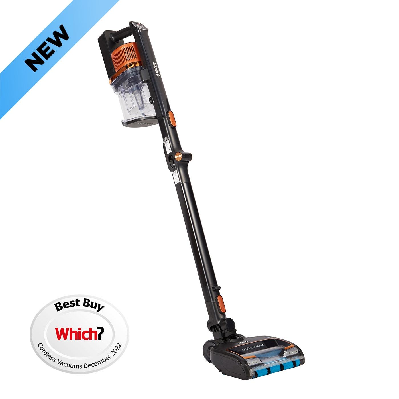 Shark Anti Hair Wrap Cordless Stick Vacuum Cleaner with PowerFins & Flexology [Single Battery] IZ300UK product photo