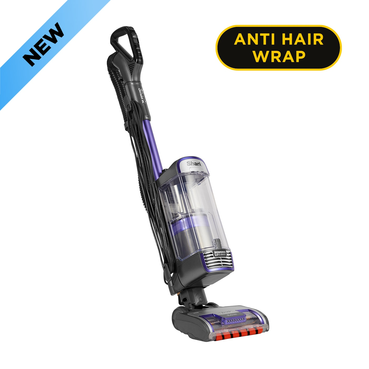 Shark Anti Hair Wrap Upright Vacuum Cleaner with Powered Lift-Away NZ850UK product photo
