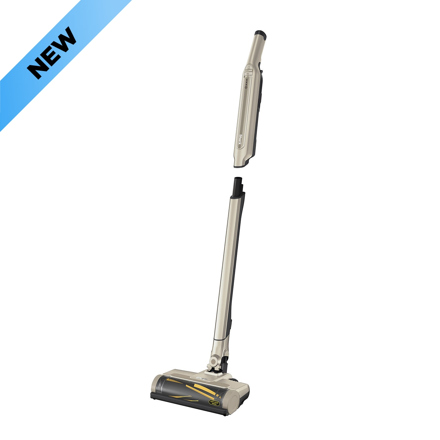 Shark WandVac System 2-in-1 Cordless Vacuum Cleaner with Anti Hair Wrap [Single Battery] WV361GDUK – Gold product photo
