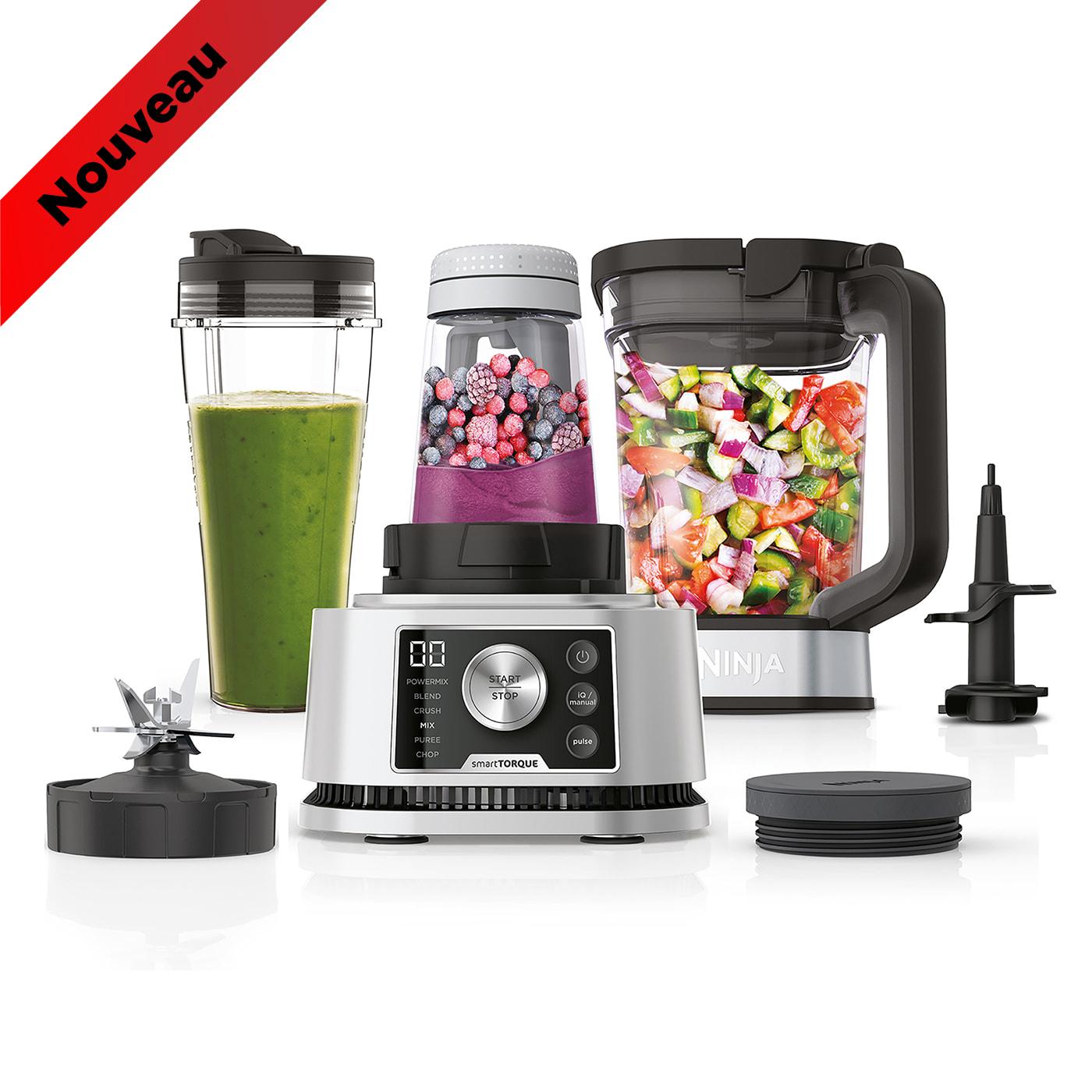 Blender 3 en 1 Ninja Foodi Power Nutri avec technologies Smart Torque & Auto-iQ 1200W - CB350EU photo du produit