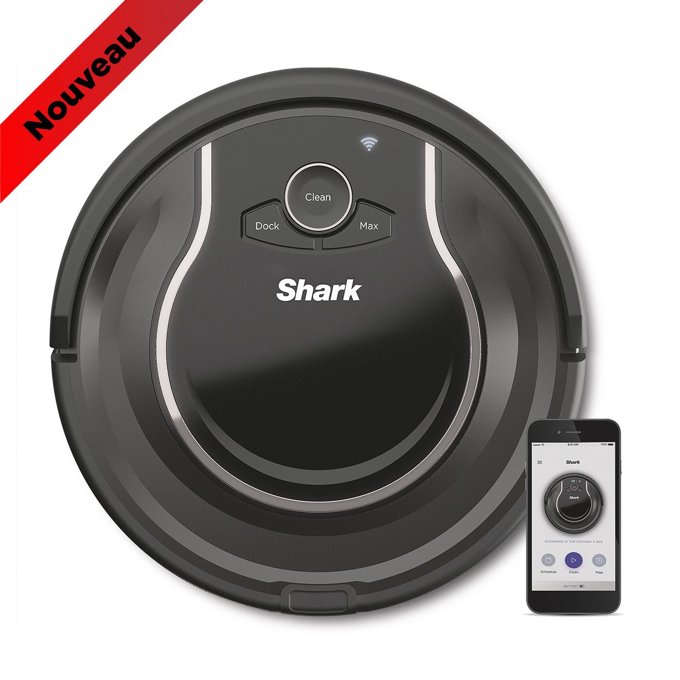 Aspirateur robot Shark RV750EU, connectivité Wi-Fi photo du produit