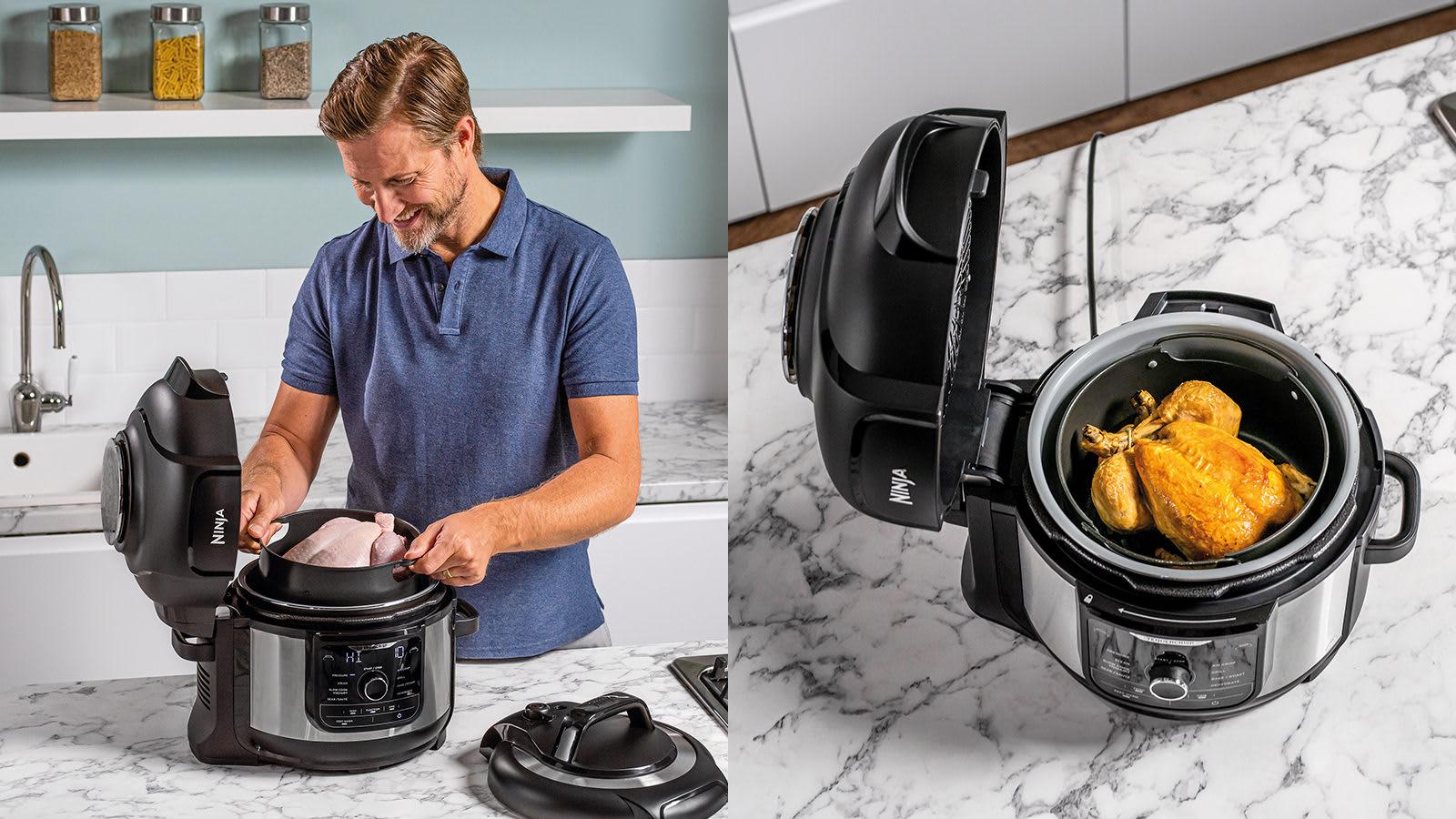 Ninja Foodi 9-in-1 Multi-Cooker 6L OP350UK - Ninja Cooking ...