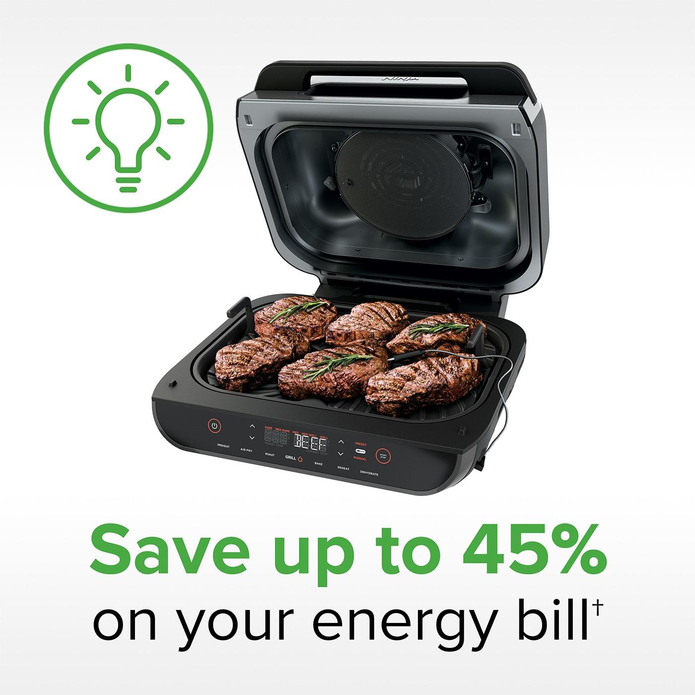 Parrilla y Freidora de aire 6 en 1 Ninja Foodi MAX AG551EU product photo