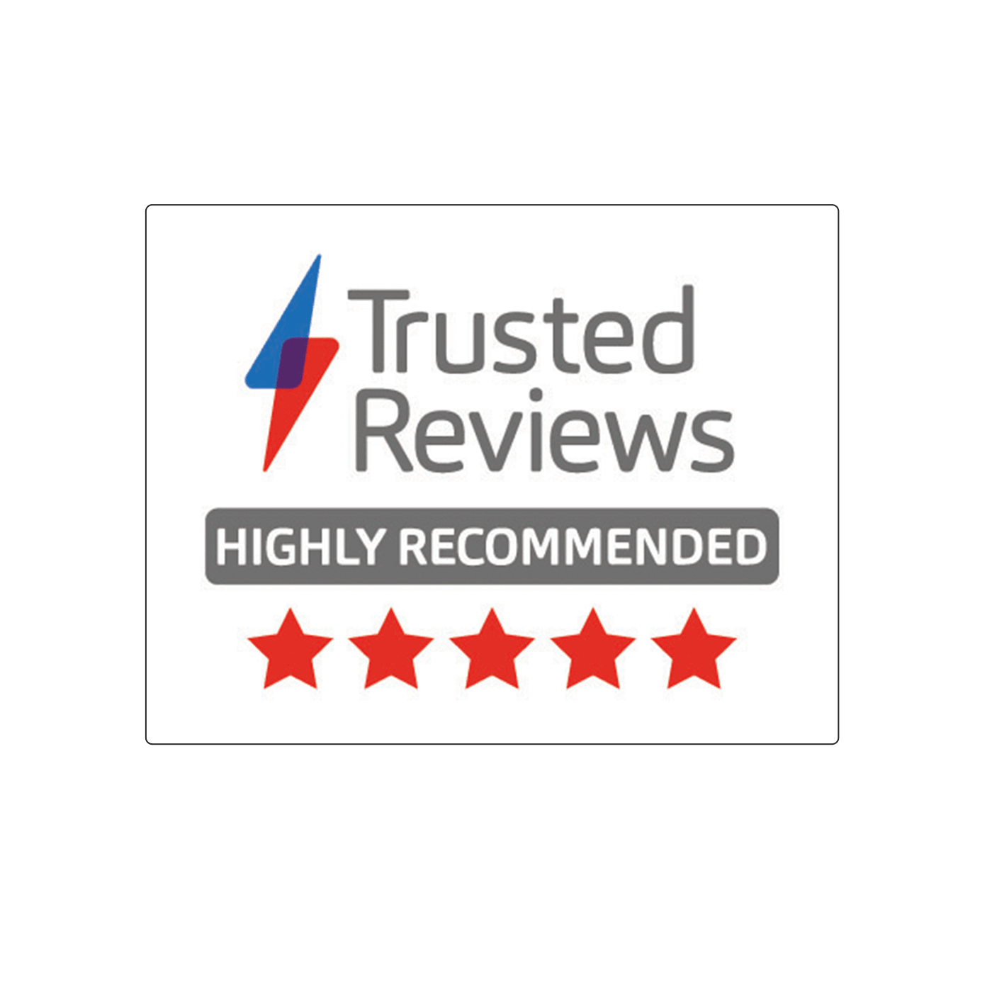 Trusted Review Badge