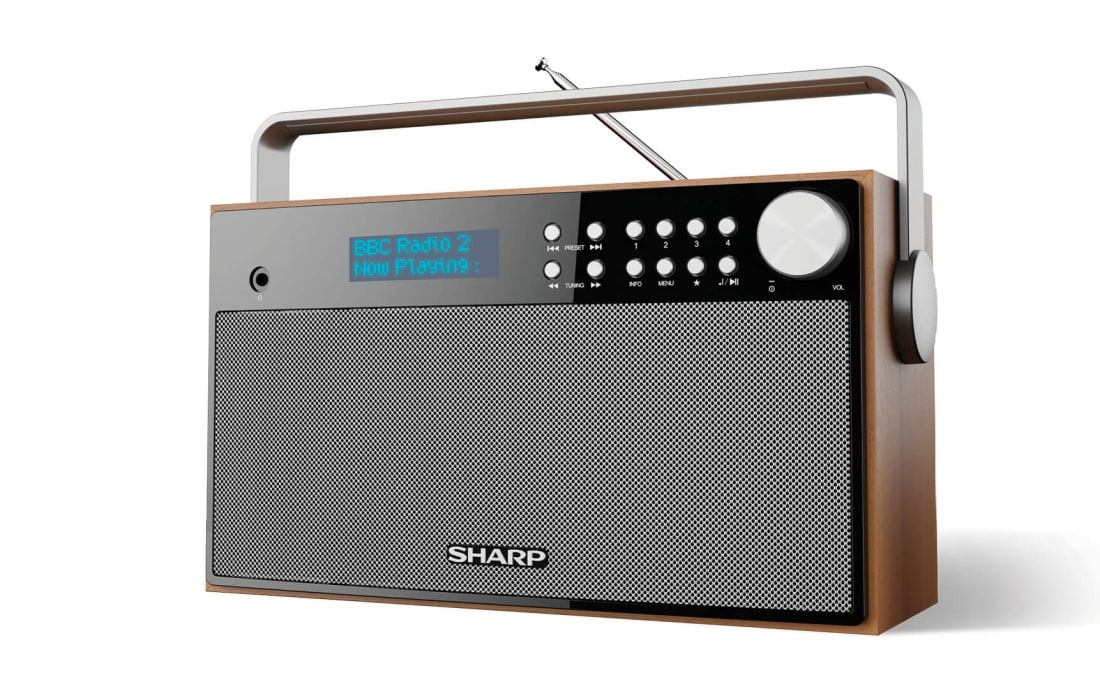 Radio - STEREO PORTABLE BLUETOOTH® DAB RADIO