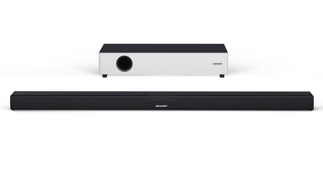 Soundbar - 2.1 ULTRA SLIM SOUNDBAR WITH FLAT WIRELESS SUBWOOFER