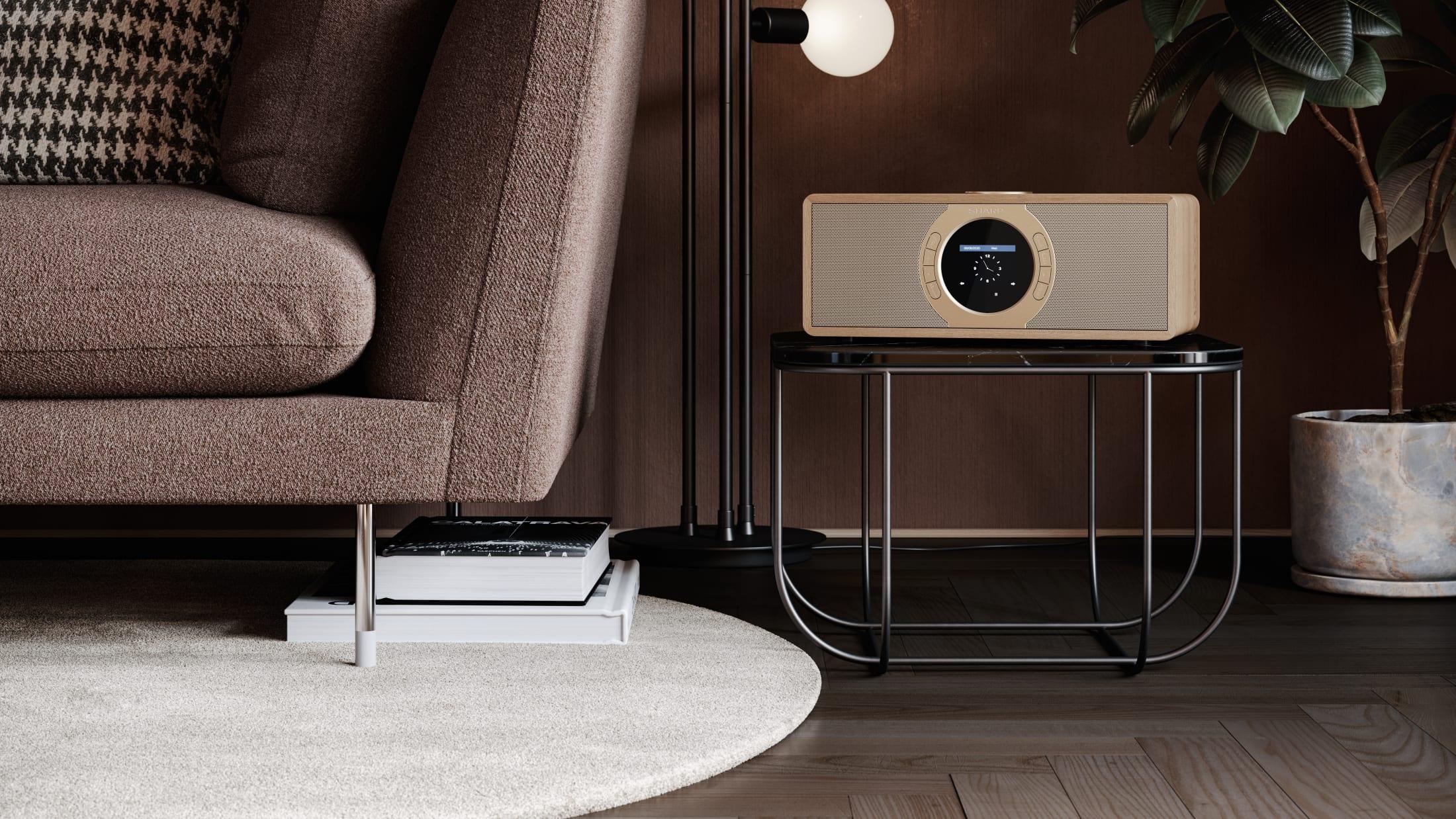 Stereo Internet-/Digitalradio DAB/DAB+/FM with RDS, 30 W, Spotify, Bluetooth and 60 station memory.