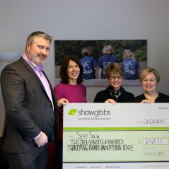 Shaw Gibbs raises over £2,400 for local Oxfordshire charity - news article image