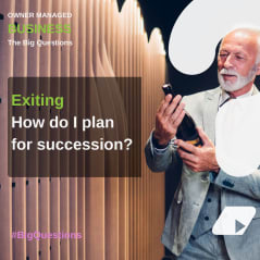 How do I plan for succession? - news article image