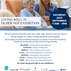 Shaw Gibbs support Fairfield Residential's Living Well in Older Age exhibition  - 28 September 2019 - news article image