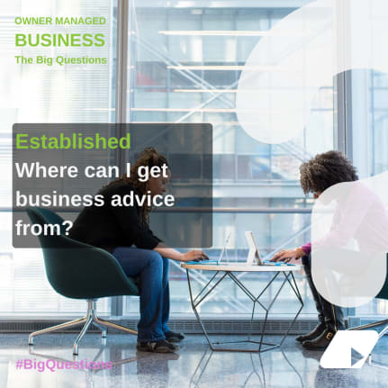 Where do I get business advice from? - news article image
