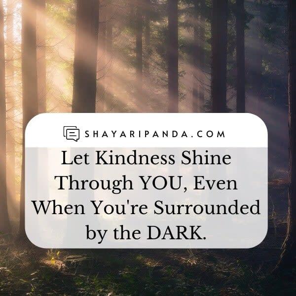 Let Kindness Shine Through YOU
