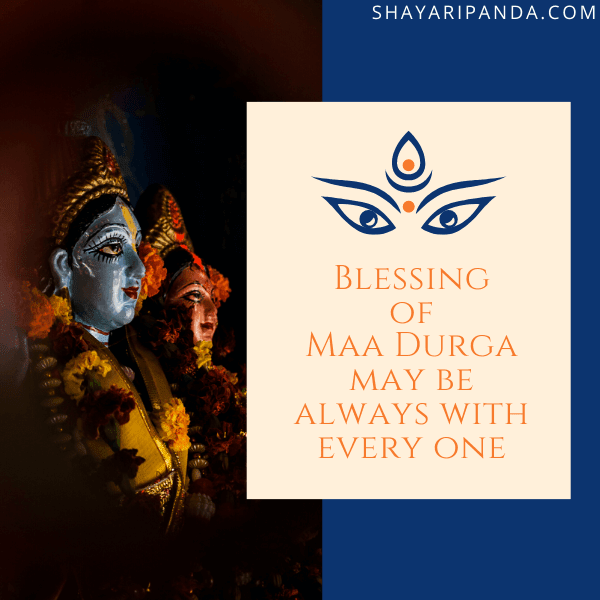 Blessing of Maa Durga