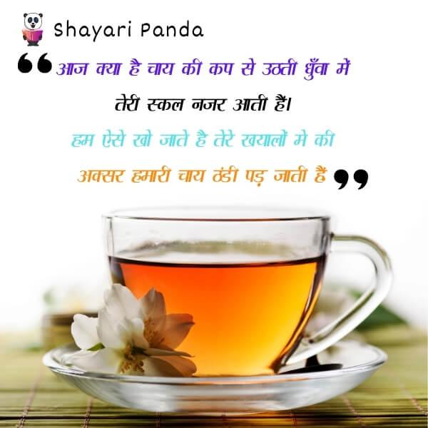 aaj kya hai chaye ki cup se uthti dhuva me teri skal najar aati hai